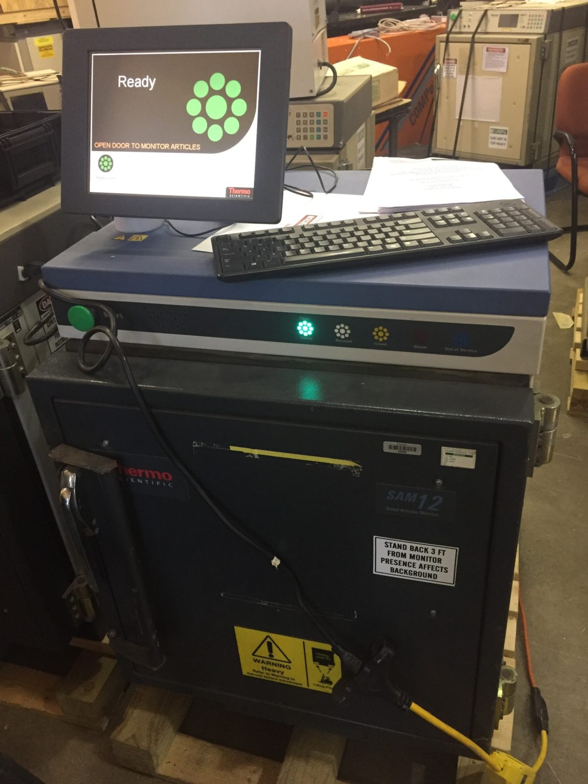Thermo SAM-12 Shielded Tool Monitor 12A Two door version