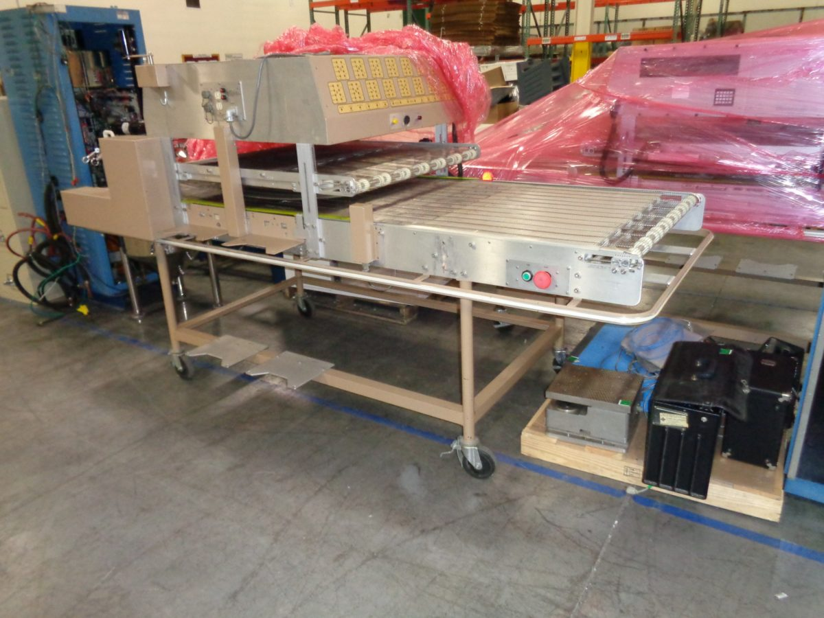 Ludlum Model 329-32 Laundry Contamination Monitor